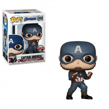 Funko POP! Bobble: Marvel: Avengers Endgame: Captain America фигурка