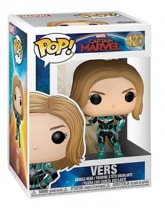 Funko POP! Bobble: Marvel: Captain Marvel: Vers серия POP!