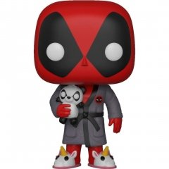 Funko POP! Bobble: Marvel: Deadpool Playtime: Deadpool in Robe источник Deadpool
