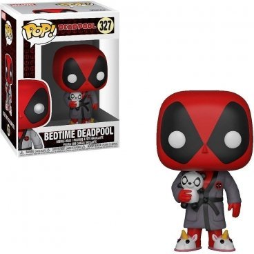 Funko POP! Bobble: Marvel: Deadpool Playtime: Deadpool in Robe фигурока