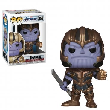 Funko POP! Bobble: Marvel: Avengers Endgame: Thanos фигурка