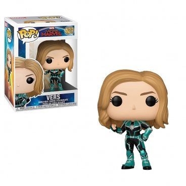 Funko POP! Bobble: Marvel: Captain Marvel: Vers фигурка