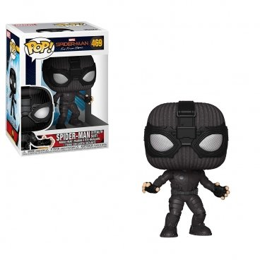 Funko POP! Bobble: Marvel: Spider-Man: Far From Home: Spider-Man (Stealth Suit) фигурка