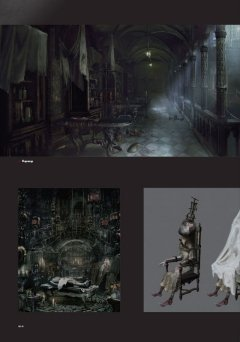 Артбук Bloodborne: Официальные Иллюстрации серия FromSoftware