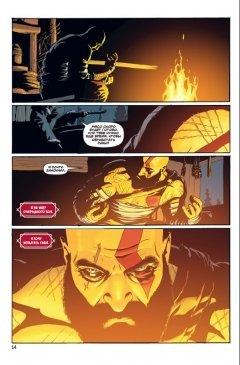 Комикс God of War жанр Фэнтези и Приключения