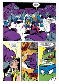 Комикс Черепашки-Ниндзя: Приключения – Человек, который продал мир. Книга 6 автор Стив Мёрфи
