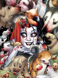 Артбук Безумная Харли Квинн источник Harley Quinn