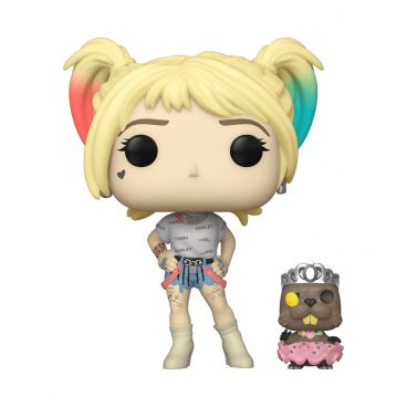 Funko POP! Vinyl: DC: Birds of Prey: Harley Quinn w/Beaver фигурка