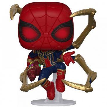Funko POP! Bobble: Marvel: Avengers Endgame: Iron Spider w/NanoGauntlet фигурка