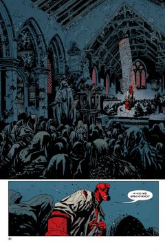 Комикс Хеллбой. Книга восьмая. Зов тьмы. изображение 1