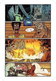 Комикс Убивашка в Колумбии автор Марк Миллар