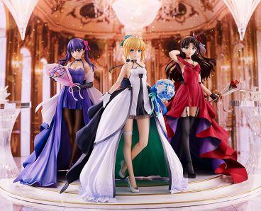 Saber, Rin Tohsaka and Sakura Matou ~15th Celebration Dress Ver.~ Premium Box фигурка