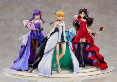Фигурка Saber, Rin Tohsaka and Sakura Matou ~15th Celebration Dress Ver.~ Premium Box серия Fate/stay night ~15th Celebration Project~ и Fate Series