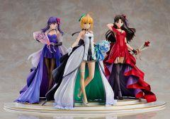 Фигурка Saber, Rin Tohsaka and Sakura Matou ~15th Celebration Dress Ver.~ Premium Box источник Fate/stay night