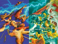 Комикс Справедливость. Абсолютное издание источник Justice League и Justice