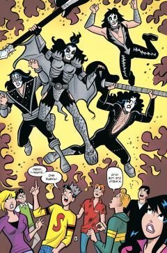 Комикс Арчи встречает группу KISS источник Арчи