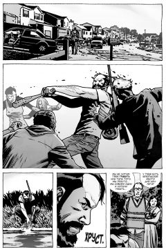 Комикс Ходячие мертвецы. А вот и Ниган! автор Роберт Киркман и Чарли Адлард