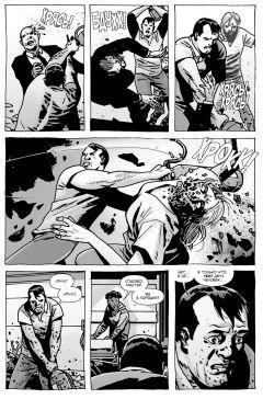 Комикс Ходячие мертвецы. А вот и Ниган! изображение 1