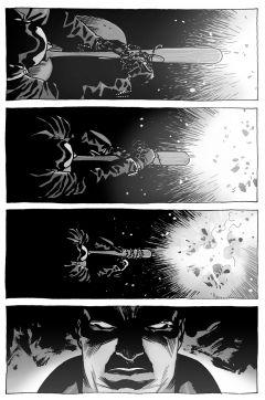 Комикс Ходячие мертвецы. А вот и Ниган! источник The Walking Dead