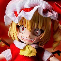 Фигурка Chibikko Doll Touhou project Flandre Scarlet изображение 2