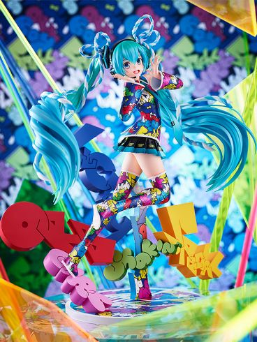 Hatsune Miku: MIKU EXPO 5th Anniv. / Lucky☆Orb: UTA X KASOKU Ver. фигурка