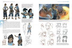 Артбук Avatar. The Legend of Korra. Аватар Корра. Искусство анимационного мира изображение 1