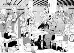 Манга Стальной Алхимик. Книга 8 жанр Приключения, Научная фантастика, Комедия и Драма