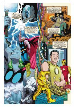 Комикс История вселенной Marvel #3 автор Марк Уэйд, Хавьер Родригес и Альваро Лопес