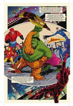 Комикс История вселенной Marvel #3 изображение 1