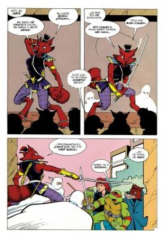 Комикс Черепашки-Ниндзя: Приключения. Том 8. Солнце полуночи издатель Illusion Studios