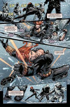 Комикс Чёрная Вдова. Поцелуй или смерть серия Marvel