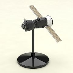 Модель 1/150 Plastic Model Soyuz Rocket & Transport Train изображение 6