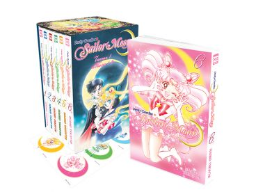 Набор манги Sailor Moon. Часть 1. Тома 1-6. манга