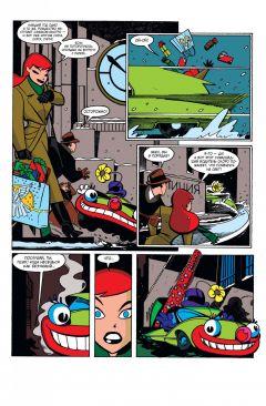 Комикс Бэтгерл. Приключения. Рождественский беспредел источник Batman