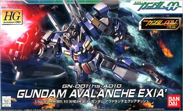 1/144 HG AVALANCHE EXIA DASH category.gundam