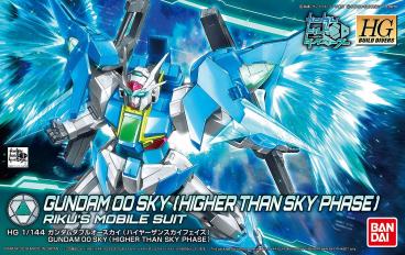 1/144 HGBD GUNDAM 00 SKY (HIGHER THAN SKY PHASE) category.gundam