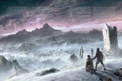 Артбук Хребты Безумия. Том 2 (иллюстр. Ф. Баранже) серия H. P. Lovecraft
