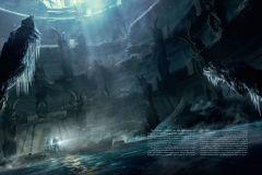 Артбук Хребты Безумия. Том 2 (иллюстр. Ф. Баранже) жанр Фантастика, Мистика и Ужасы
