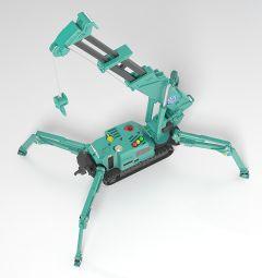 Модель MODEROID MAEDA SEISAKUSHO Spider Crane (Green) изображение 2