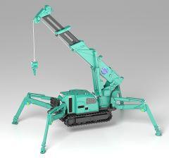 Модель MODEROID MAEDA SEISAKUSHO Spider Crane (Green) изображение 4