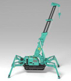 Модель MODEROID MAEDA SEISAKUSHO Spider Crane (Green) изображение 1