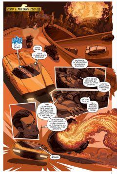 Комикс Судья Дредд: Андерсон, пси-подразделение. издатель Xl Media