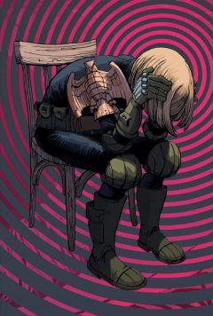 Комикс Судья Дредд: Андерсон, пси-подразделение. источник Judge Dredd