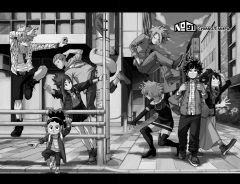 Манга Моя геройская академия. Книга 6. источник Boku no Hero Academia