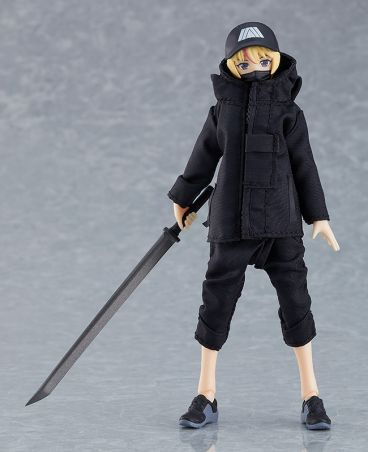 figma Female Body (Yuki) with Techwear Outfit фигурка