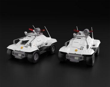 1/43 Mobile Police Patlabor Type 98 command vehicle 2 sets модель