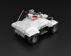 Модель 1/43 Mobile Police Patlabor Type 98 command vehicle 2 sets производитель Aoshima Bunka Kyozai Co., Ltd.