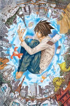 Ранобэ L: изменить мир источник Death Note