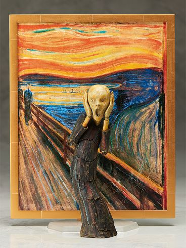 figma The Scream фигурка