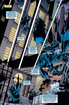 Комикс Бэтмен. Темный рыцарь. Легенды: Городская легенда источник Batman